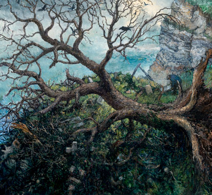 Chester Arnold: Trees @ Sonoma County Museum (3/3)
