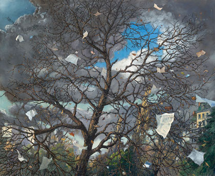 Chester Arnold: Trees @ Sonoma County Museum (1/3)