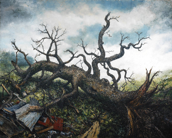 Chester Arnold: Trees @ Sonoma County Museum (2/3)