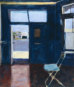 Interior with Doorway, 1962, R. Diebenkorn.