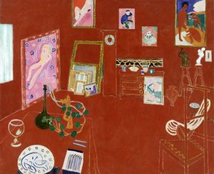 The Red Studio, 1911, H. Matisse.