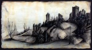 Aurea, by Ben Lastufka, at Christie Marks Gallery.