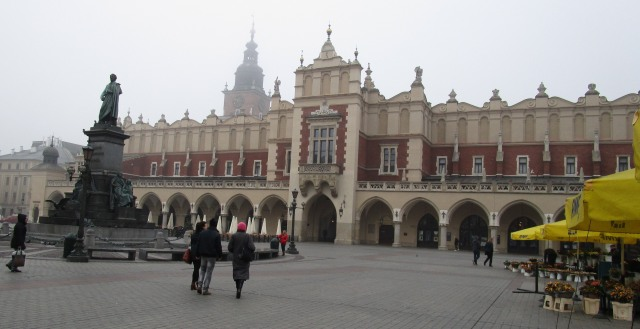 Cloth Hall, Krakow.