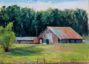 """""""River Road Revisited"""", by Cynthia Jackson-Hein."""