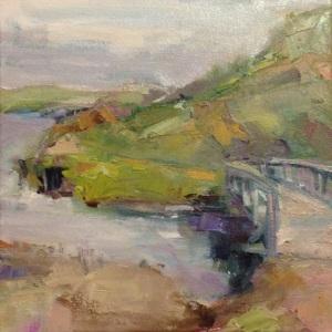 Landscape by Sandra Rubin.