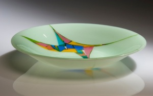 Grass Bowl, by Carla Sarvis.