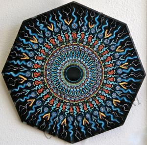 Mandala Mirror, by Douglas Ballou.