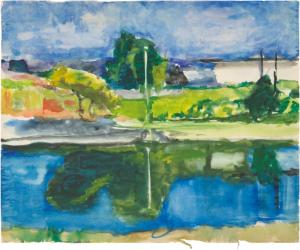 Untitled (c. 1957-66) Richard Diebenkorn, ©The Richard Diebenkorn Foundation.