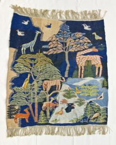 The Cairo Zoo, tapestry