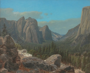 Cathedral Rocks, by James David Smillie.