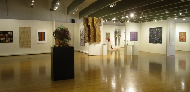 International Fiber Arts VII, installation view