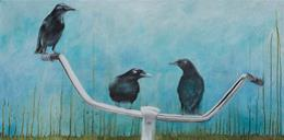 Bicycles and Birds, by Karen Spratt