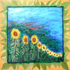 Sunflowers, by Simmon Factor