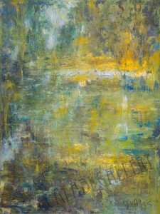 Conversation with Monet (The Slough) by Warren Bellows