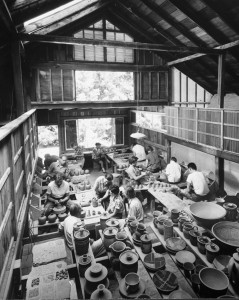Pottery Studio at Pond Farm, by Otto Hagel