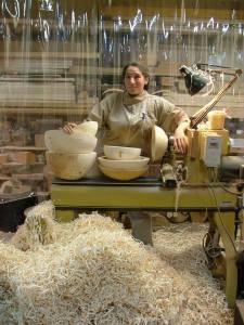 Kalia Kilban in her studio.