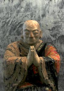 Takayuki Zoshi, Praying Monk