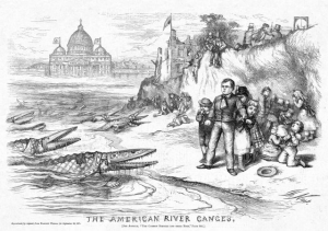 The American River Ganges by Thomas Nast